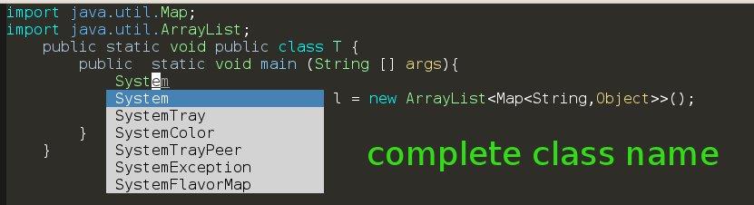 AutoJavaComplete-class