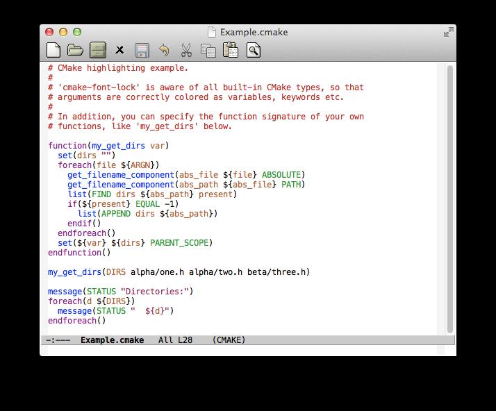 EmacsWiki: C Make Font Lock