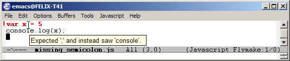 JslintOnWindowsScreenshot