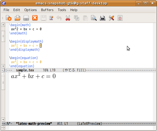 latex-math-preview.el