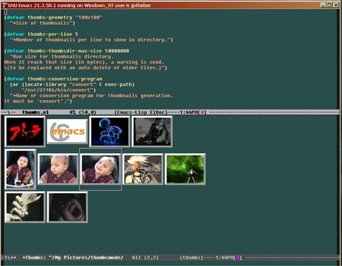 ThumbsModeScreenshot