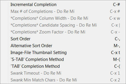 drew-emacs-icicle-Icicles-Options-Choose-menu