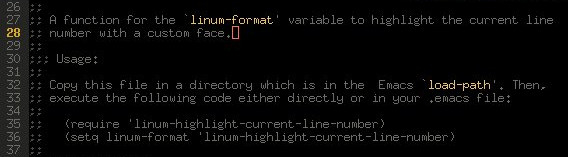linum-highlight-current-line